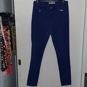 Cotton On Royal Blue Colour Skinnies